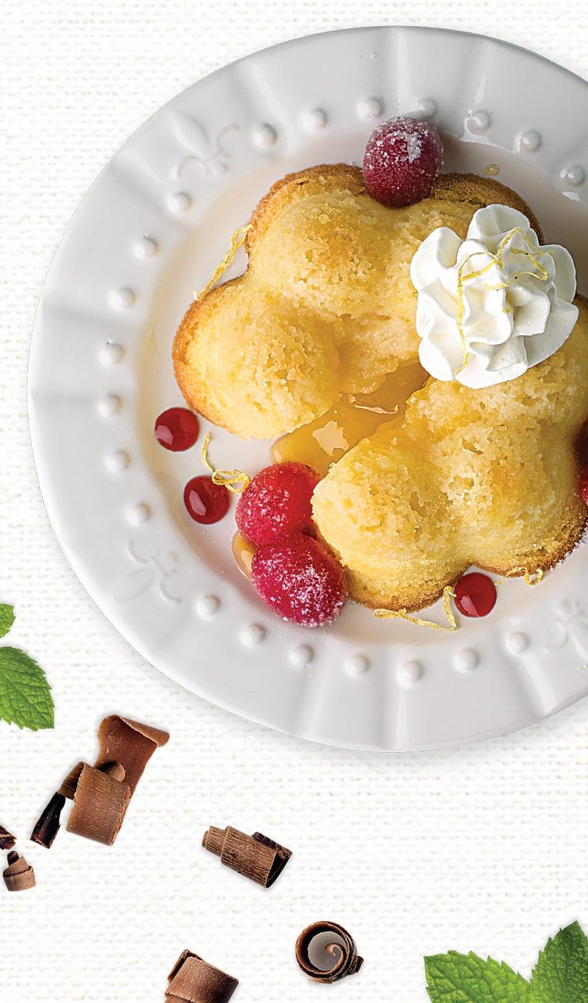 Sysco Imperial Meyer Lemon Lava Cake