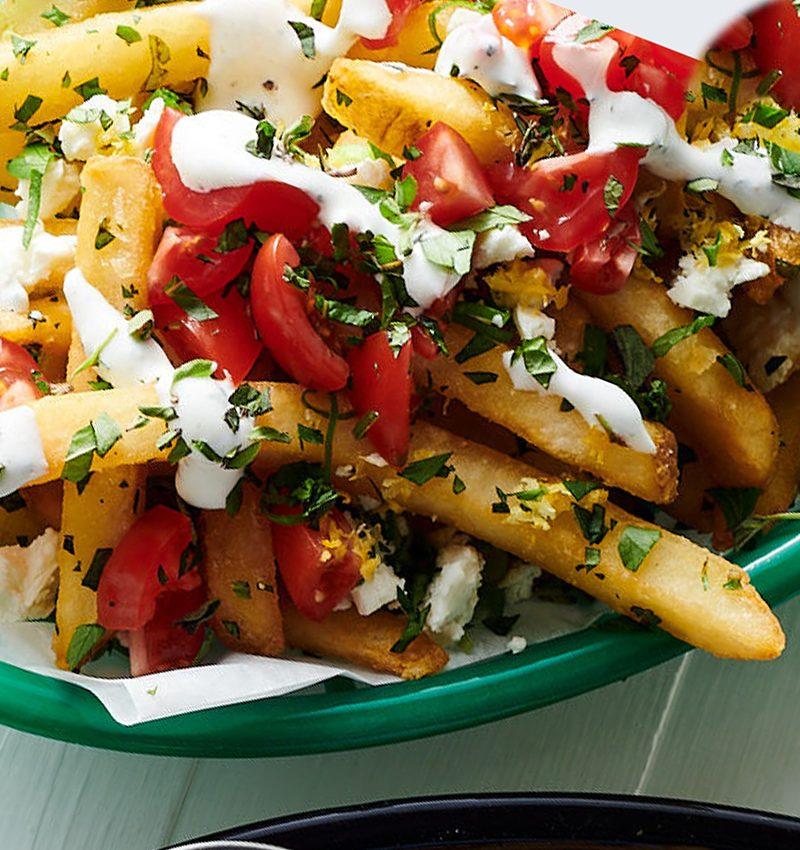 Greek-Style Fries