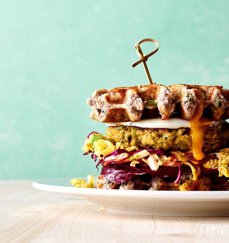 Hatch Chile Wafflewich