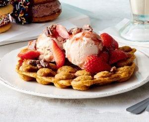Sweet Potato Bubble Waffle