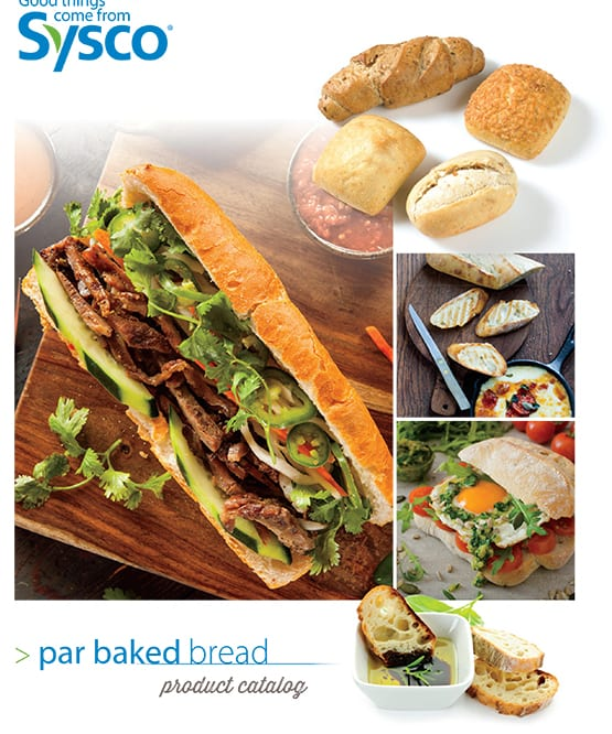 Par Baked Bread Catalog