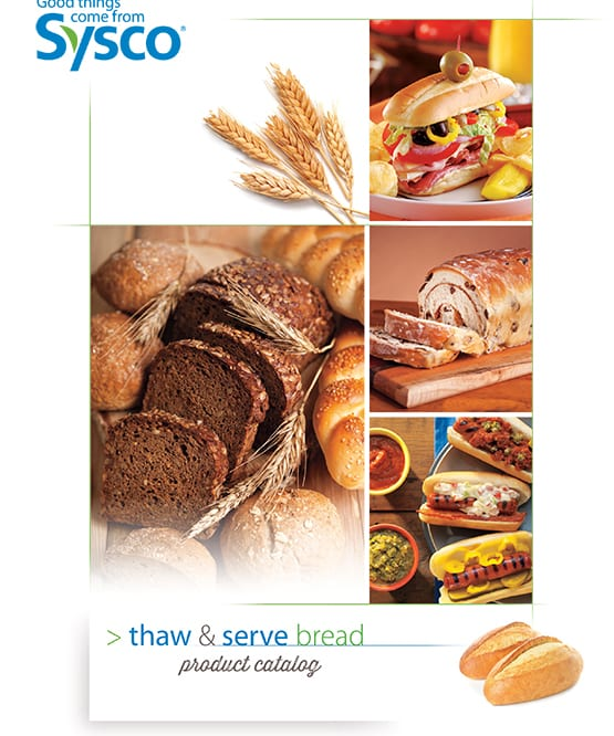 Thaw and Serve Bread