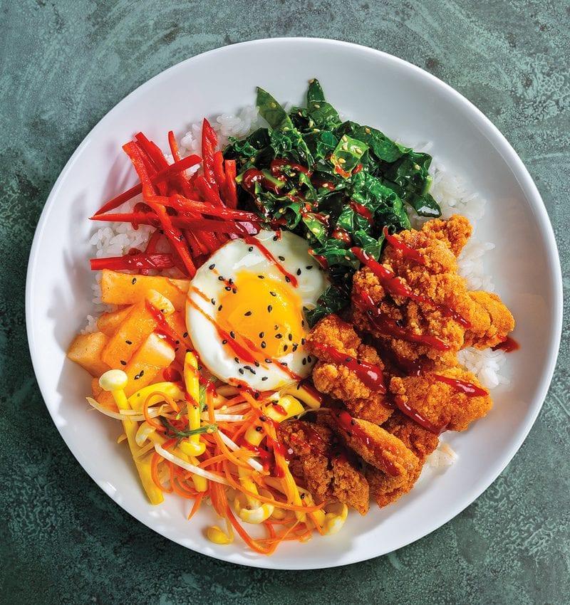 Korean Bibimbap Sysco Foodie