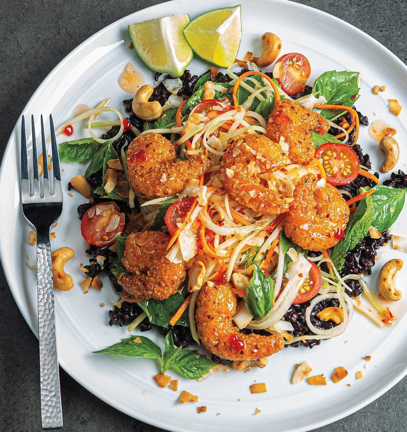 Thai Shrimp Amp Grain Salad Sysco Foodie