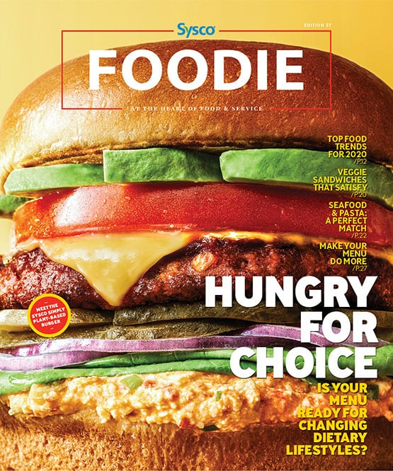 Cover Image Foodie Magazine January 2020