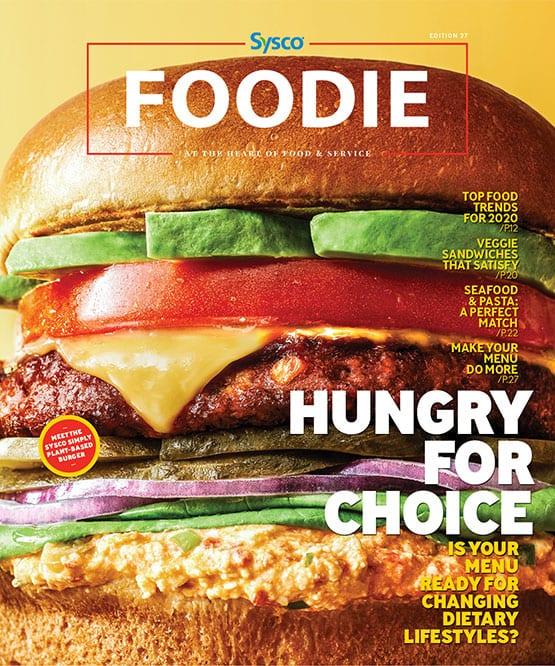Cover Image Foodie Magazine January 2020