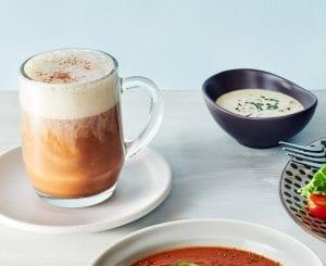 Non-dairy-chai tea latte