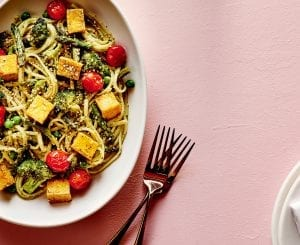 Green Goddess Pasta Bowl With Tofu