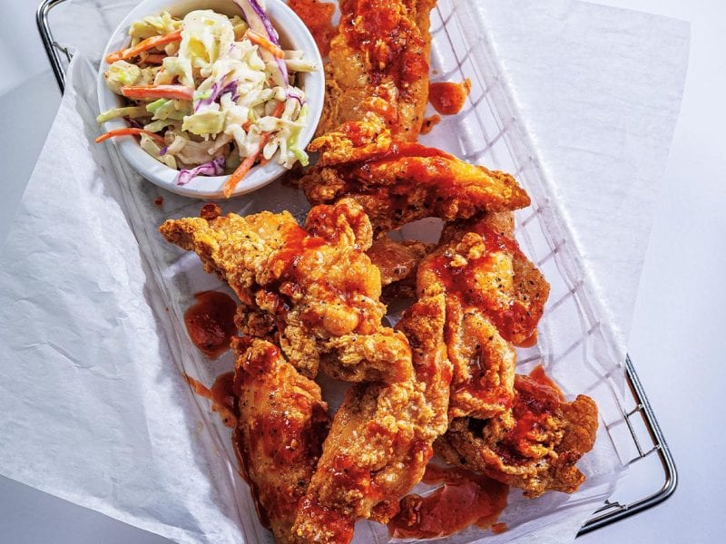 CES Boneless Thigh Wings