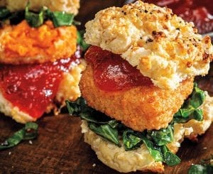 Mini Pimento Cheese Biscuit Sandwiches