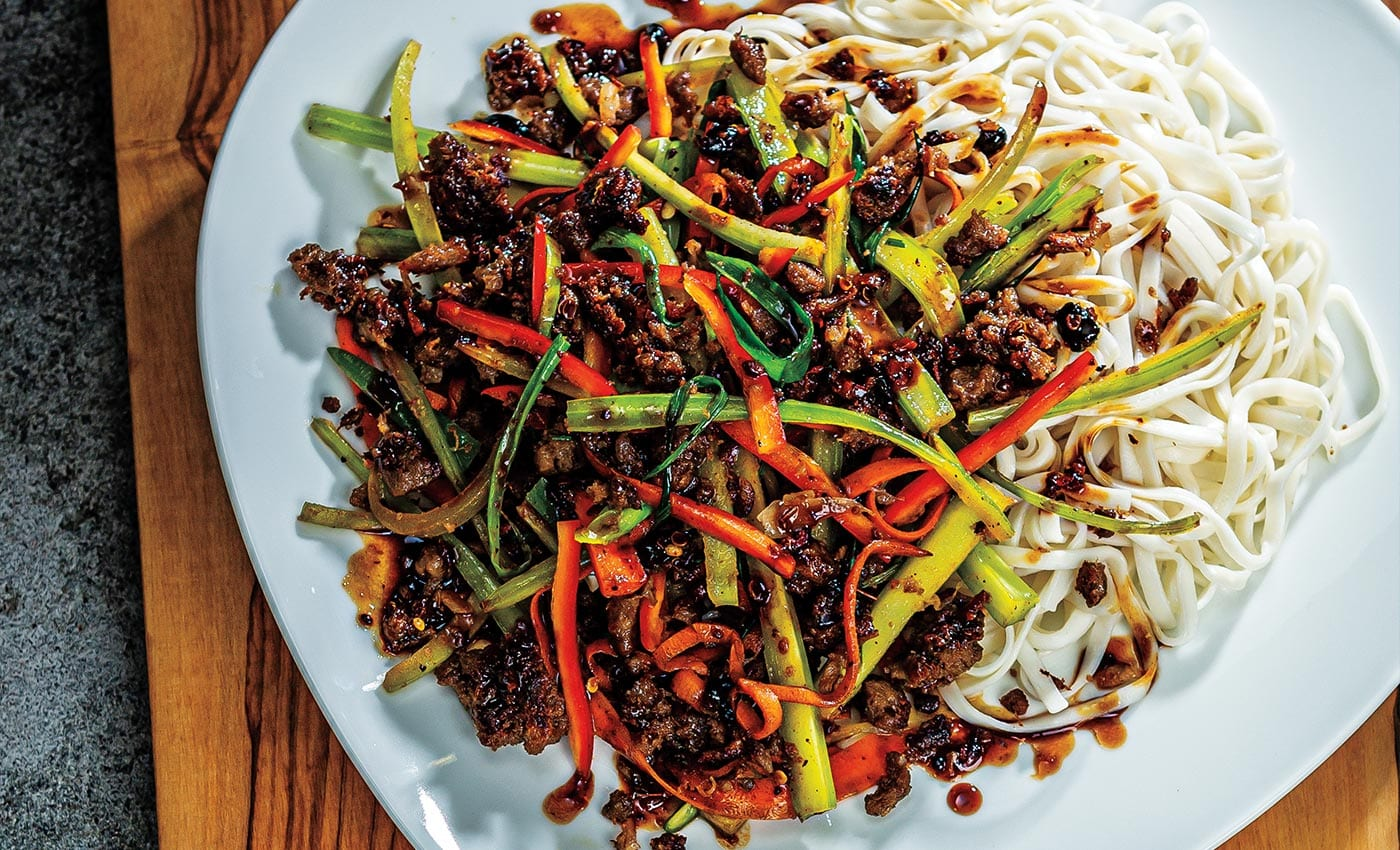 Szechuan-Style Plan Based Stir-Fry