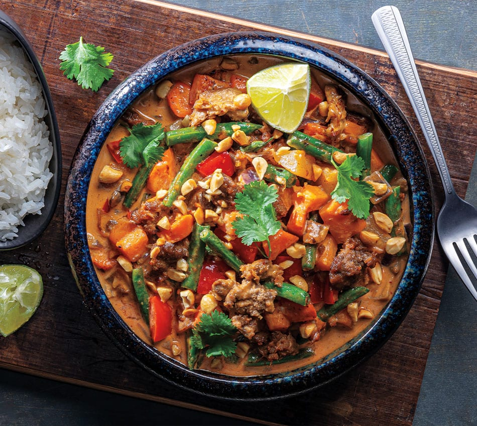 Vegan Thai Massaman Curry