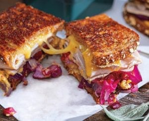 Turkey-Cranberry Brie Melt