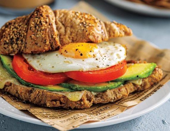 Cornetto Breakfast Sandwich