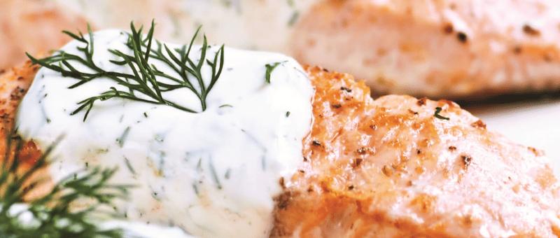 Salmon Portico Seafood
