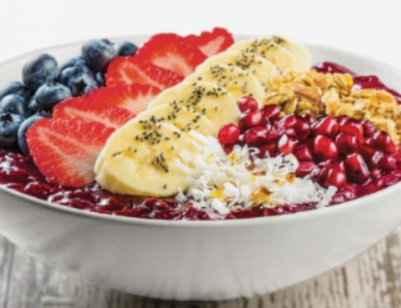 Sysco Simply Wide Awake Acai Bowl with fruits