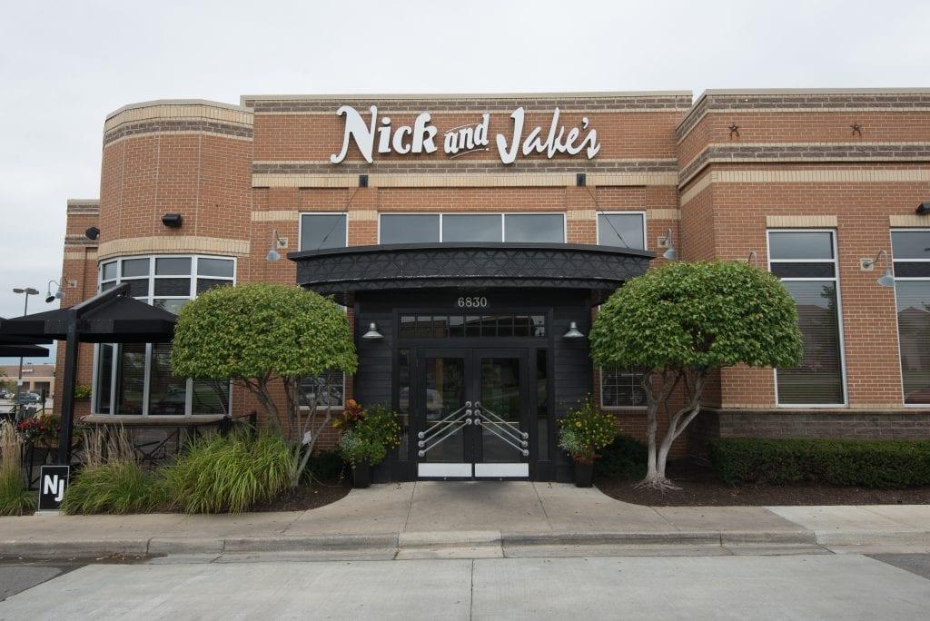 Nick & Jake's Overland Restaurant Front