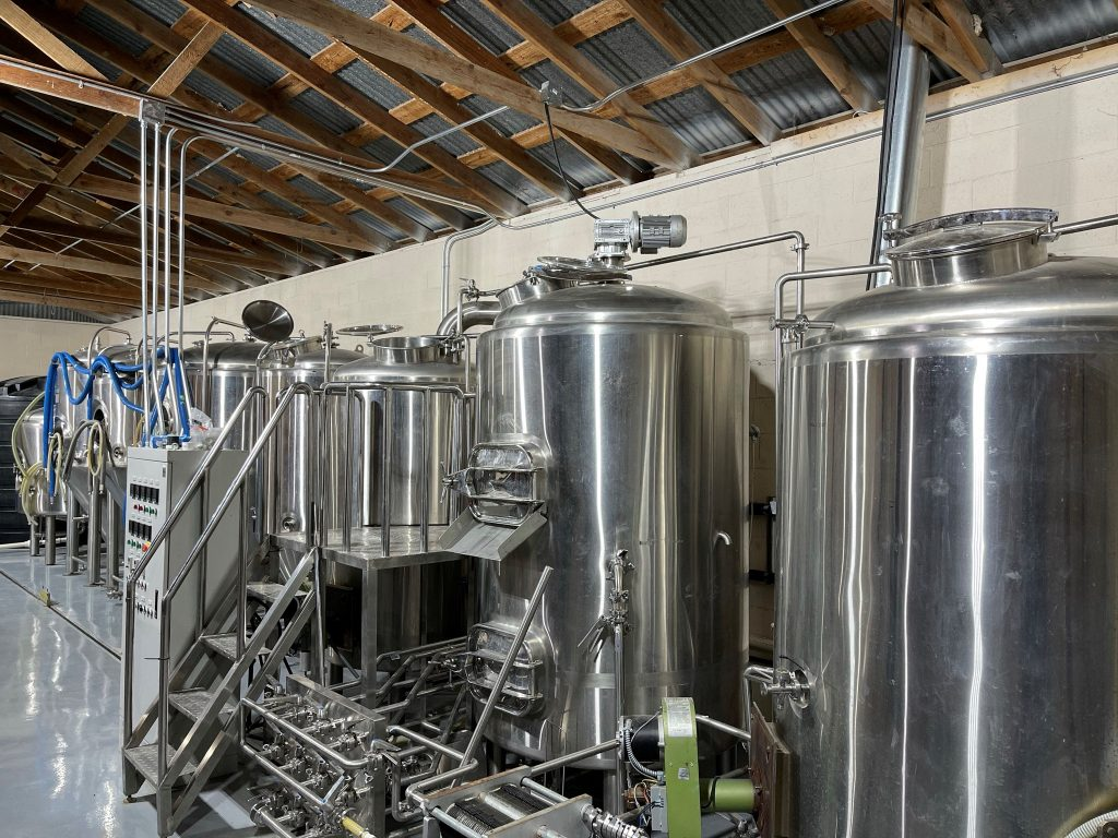 Texas Cannon Brewing Company fermenters