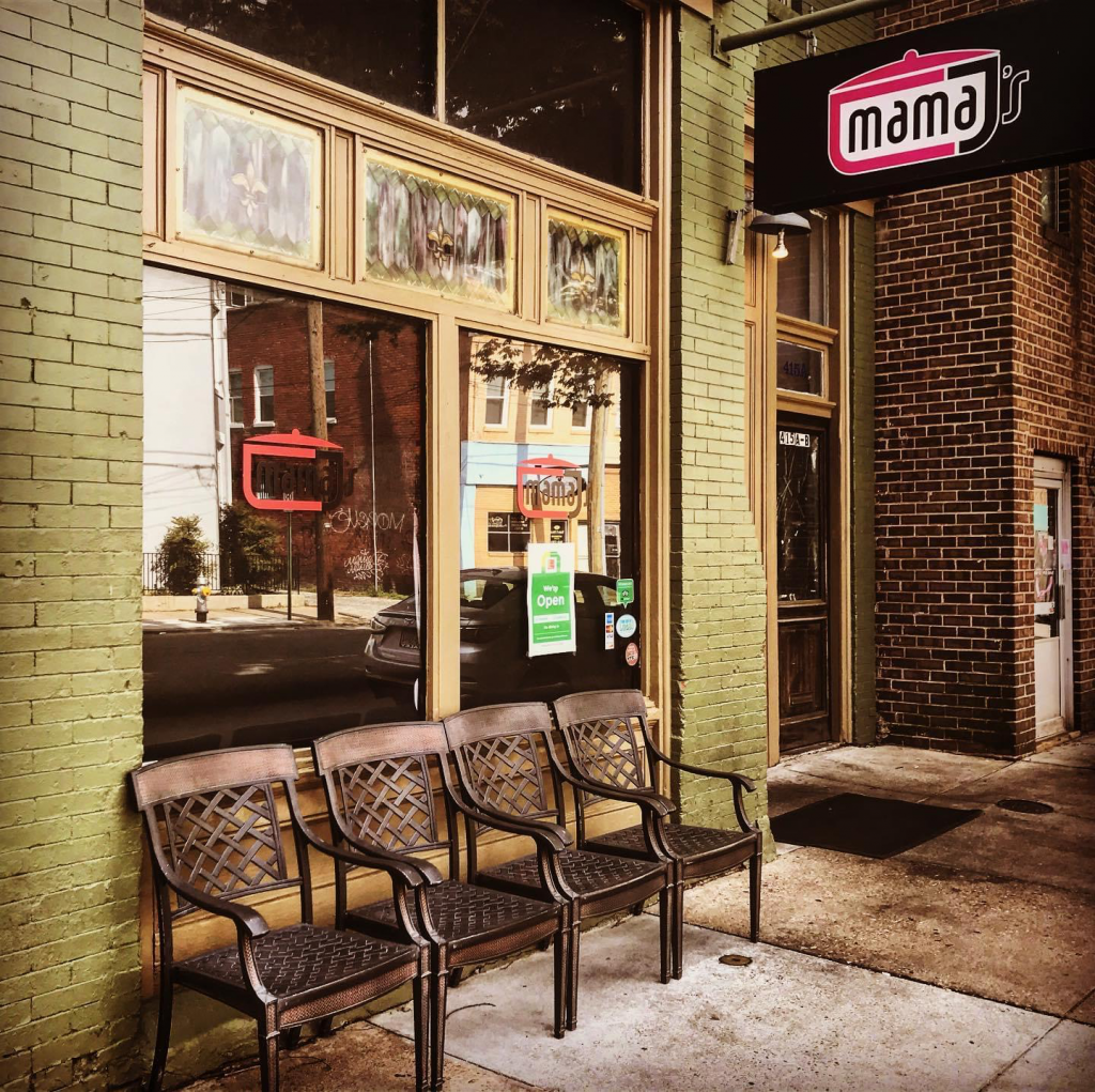 Mama J's restaurant front