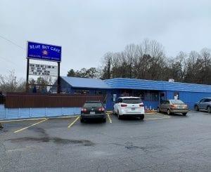 Blue Sky Cafe restaurant entrance