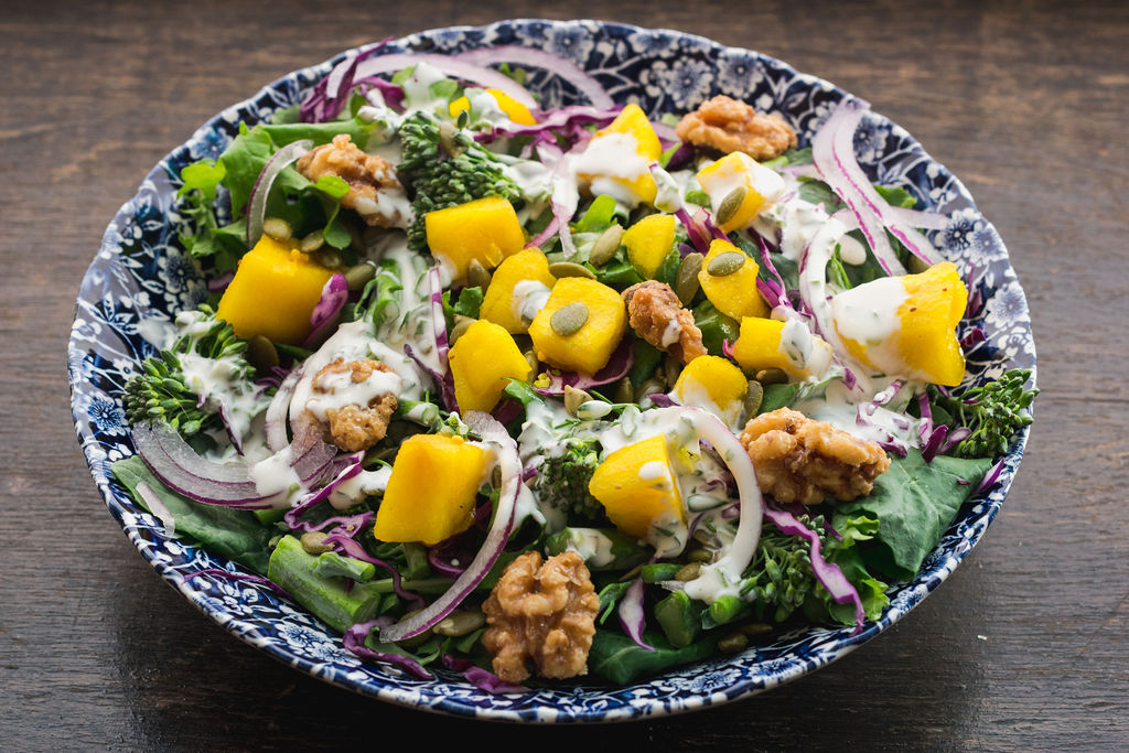 Zen Crunch Salad - Never Blue Restaurant