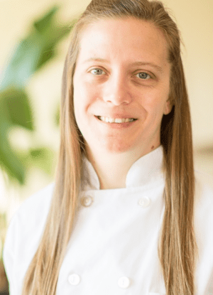 Chef Abby McBride portrait - Letty Owings Center