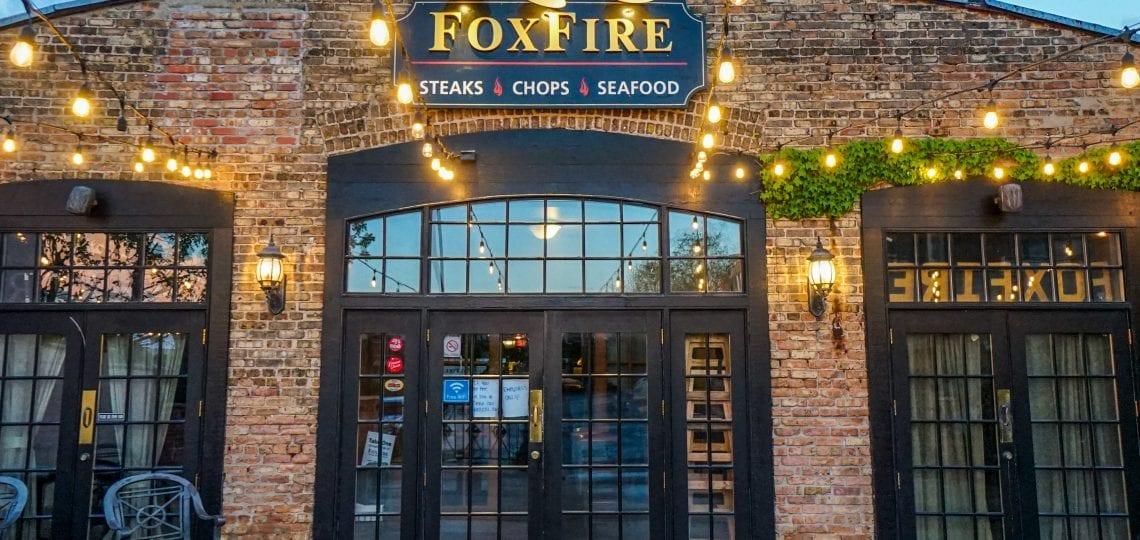 FoxFire restaurant facade