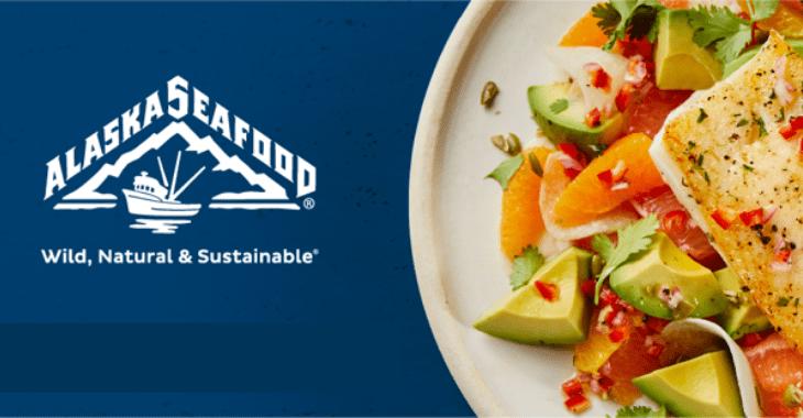 Alaska Seafood Billboard Image