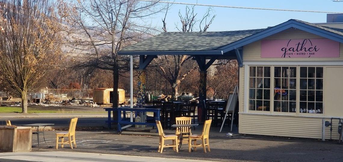 Gather Cafe Bistro Bar entrance