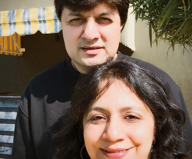 Sumesh and Dimple Bakshi portrait - Gather Cafe Bistro Bar owners