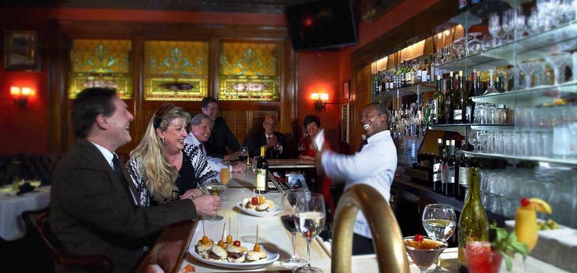 Jimmy Kelly's Steakhouse bar