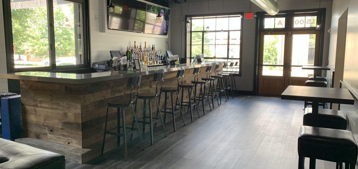 Indoor Bar at Midtown Tavern Restaurant and Bar