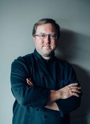 Mitchell Murphree portrait - Five Senses restaurant
