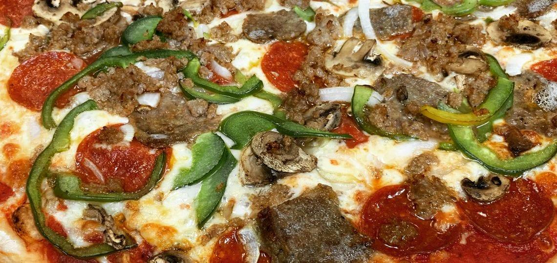 Vic's Loaded pizza from Mezza Luna