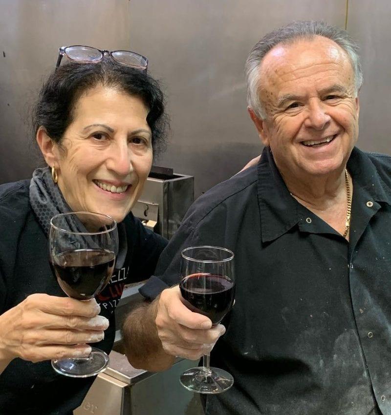 Vic and Lucy Vitolo, Mezza Luna Pizzeria owners