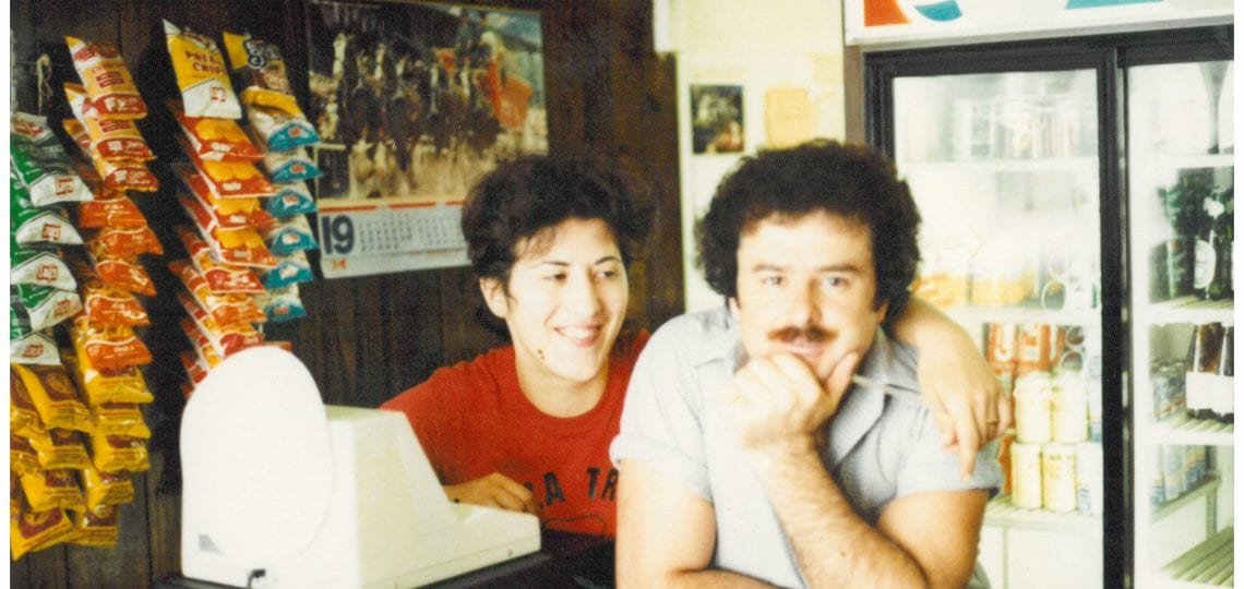 Vic and Lucy Vitolo first pizza place, Circa 1980