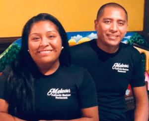 Marimar and Lucio Melecio - owners at Melecios Authentic Mexican Restaurant