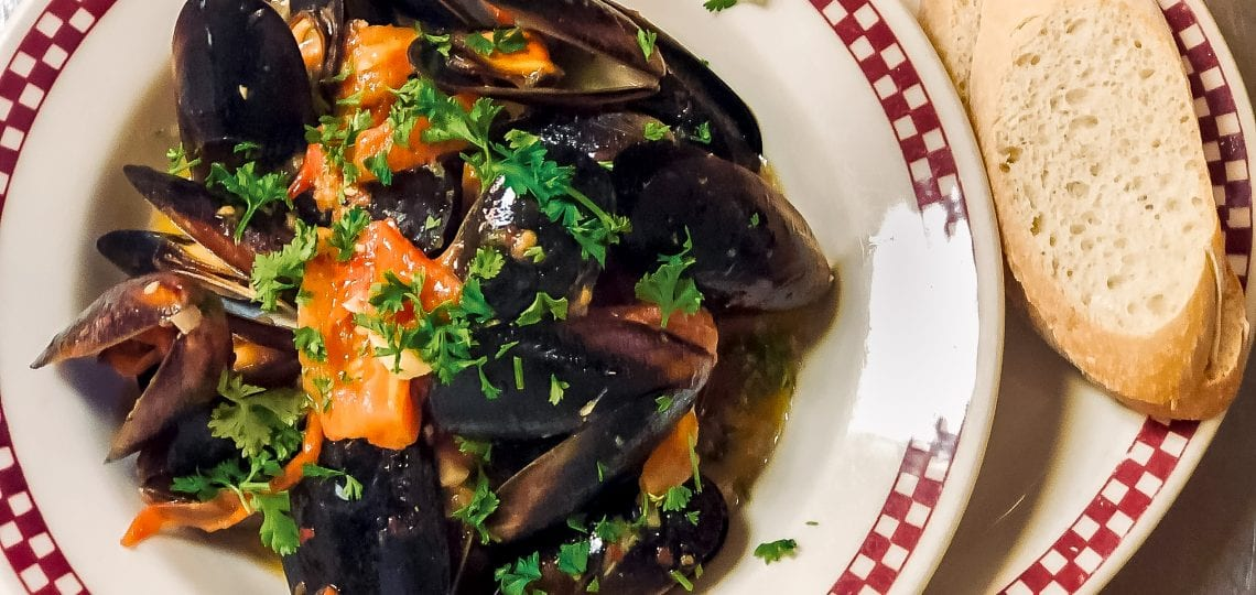 Mussels plate from Pop's Backdoor South